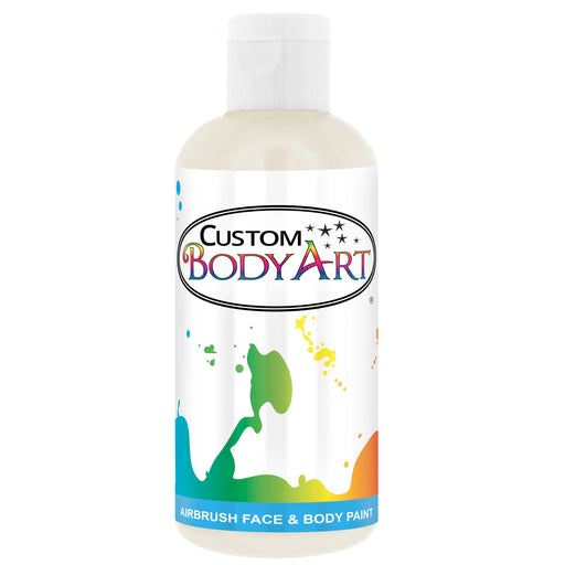 White Airbrush Face & Body Water Based Paint for Kids, 8 oz.