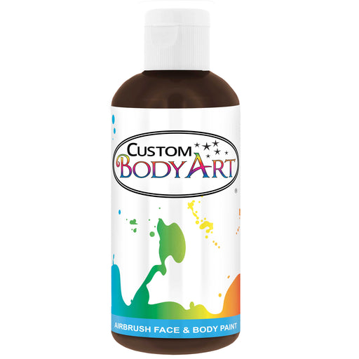 Brown Airbrush Face & Body Water Based Paint for Kids, 8 oz.