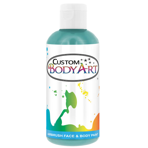 Aqua Blue Airbrush Face & Body Water Based Paint for Kids, 8 oz.