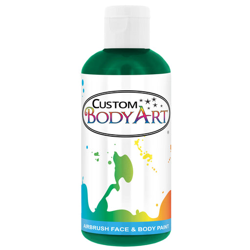Emerald Green Airbrush Face & Body Water Based Paint for Kids, 8 oz.