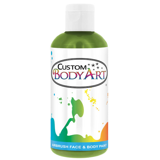 Lime Green Airbrush Face & Body Water Based Paint for Kids, 8 oz.