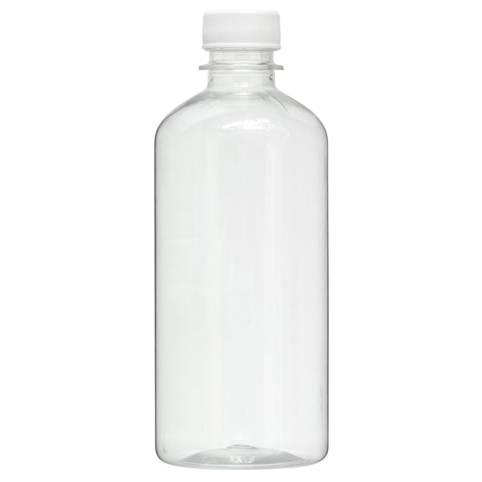 16 oz. Empty Bottle with Top Solvent Resistant Plastic