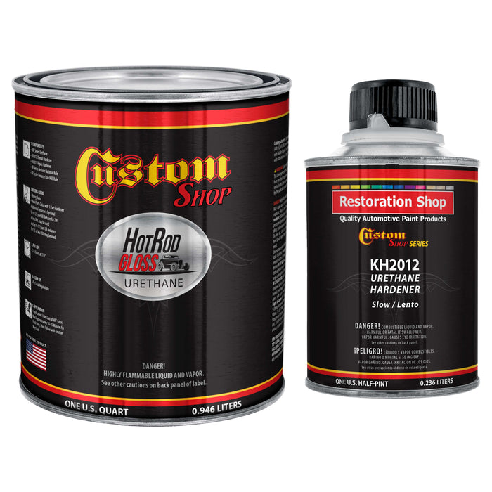 Hot Rod Black - Hot Rod Gloss Urethane Automotive Gloss Car Paint, 1 Quart Kit