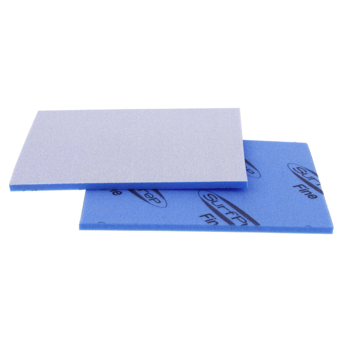 Fine Grit Surface Prep Foam Pad (Blue) 1 Case