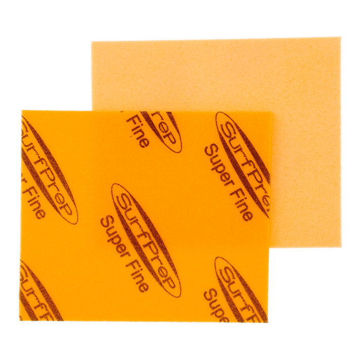 Super Fine Grit Surface Prep Foam Pad (Yellow) - 10 PACK