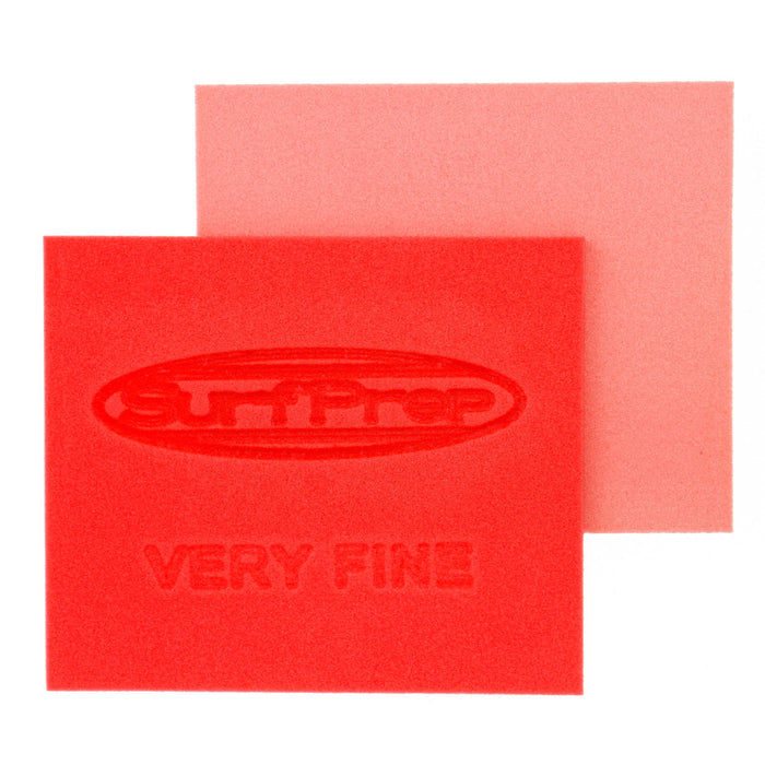 Very Fine Grit Surface Prep Foam Pad (Red) - 10 PACK