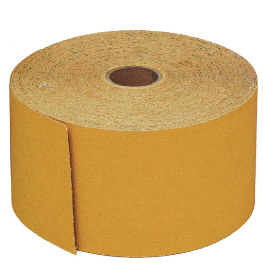 Stikit Gold Sanding Sheet Roll, 180 grit, 2-3/4 in. x 45 yd, A Weight, 02595
