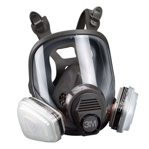 3M  Large - Full Facepiece Respirator Packout 07163, Organic Vapor/P95