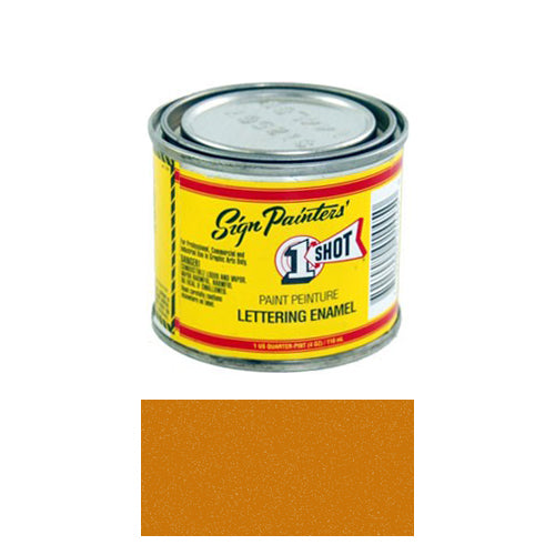 Metallic Copper Pinstriping Lettering Enamel Paint, 1/4 Pint