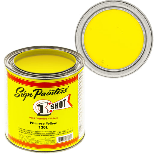 Primrose Yellow Pinstriping Lettering Enamel Paint, 1 Quart