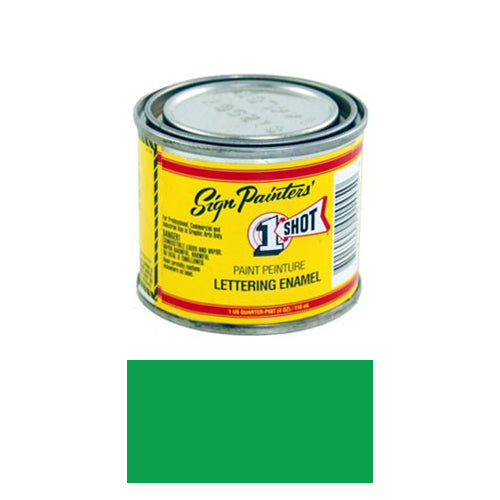 Emerald Green Pinstriping Lettering Enamel Paint, 1/4 Pint