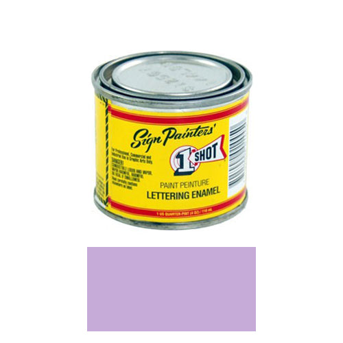 Violet Pinstriping Lettering Enamel Paint, 1/4 Pint