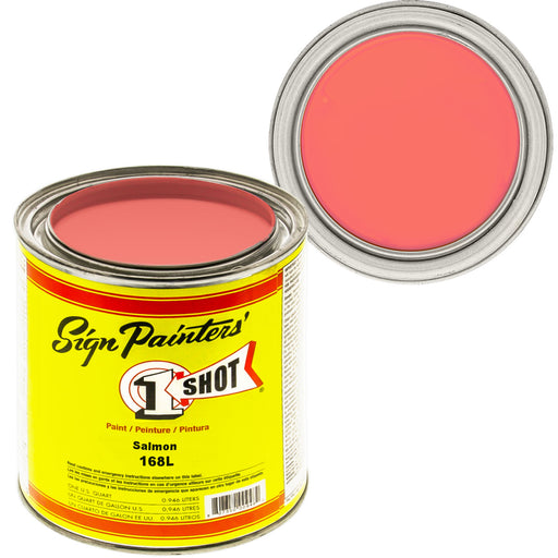 Salmon Pink Pinstriping Lettering Enamel Paint, 1 Quart