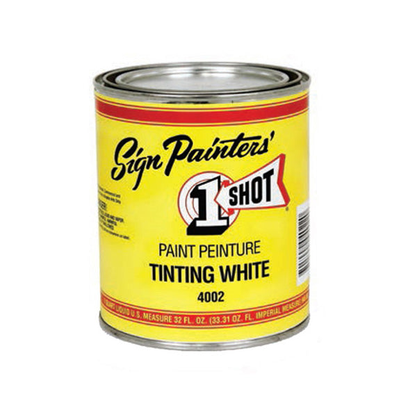 One Shot Paint 4002-Hp Shading White Half Pint