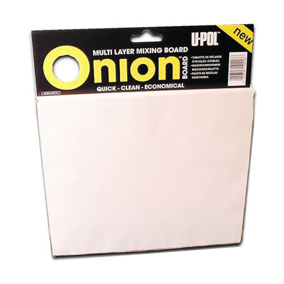 Onion Board Multi Layered Mixing Palette, 100 Sheets
