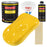 Sunshine Yellow Acrylic Enamel Auto Paint - Complete Gallon Paint Kit - Professional Single Stage High Gloss Automotive, Car Truck, Equipment Coating, 8:1 Mix Ratio 2.8 VOC