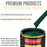 Woodland Green Acrylic Enamel Auto Paint - Complete Quart Paint Kit - Professional Single Stage High Gloss Automotive, Car, Truck, Equipment Coating, 8:1 Mix Ratio 2.8 VOC