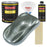 Steel Gray Metallic Acrylic Enamel Auto Paint - Complete Gallon Paint Kit - Professional Single Stage High Gloss Automotive, Car Truck, Equipment Coating, 8:1 Mix Ratio 2.8 VOC