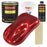 Firethorn Red Pearl Acrylic Enamel Auto Paint - Complete Gallon Paint Kit - Professional Single Stage High Gloss Automotive, Car Truck, Equipment Coating, 8:1 Mix Ratio 2.8 VOC