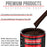 Dark Brown - Acrylic Lacquer Auto Paint - Complete Quart Paint Kit with Medium Thinner - Professional Gloss Automotive, Car, Truck, Guitar and Furniture Refinish Coating