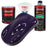 Majestic Purple - Acrylic Lacquer Auto Paint - Complete Quart Paint Kit with Medium Thinner - Professional Gloss Automotive, Car, Truck, Guitar and Furniture Refinish Coating