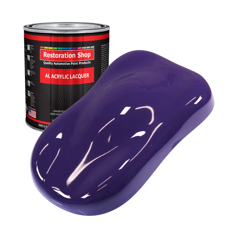 Mystical Purple - Acrylic Lacquer Auto Paint - Gallon Paint Color Only - Professional Gloss Automotive, Car, Truck, Guitar & Furniture Refinish Coating