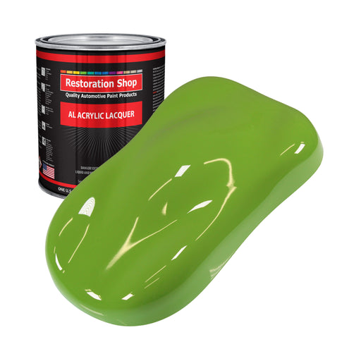 Sublime Green - Acrylic Lacquer Auto Paint - Gallon Paint Color Only - Professional Gloss Automotive, Car, Truck, Guitar & Furniture Refinish Coating