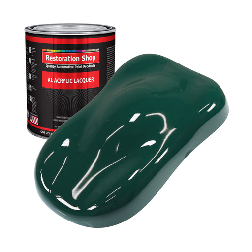 Woodland Green - Acrylic Lacquer Auto Paint - Gallon Paint Color Only - Professional Gloss Automotive, Car, Truck, Guitar & Furniture Refinish Coating