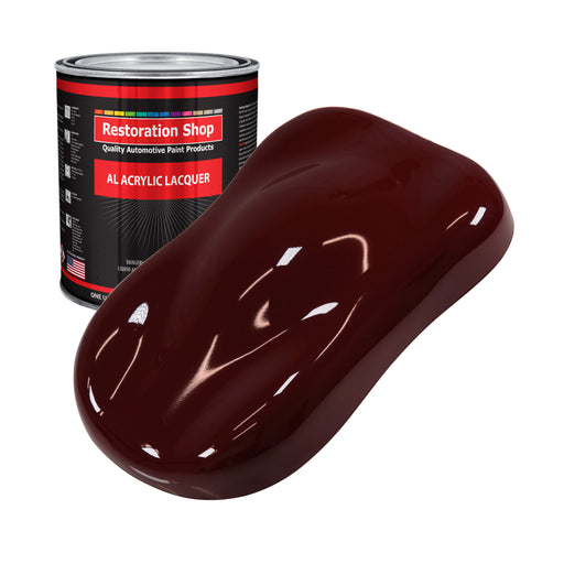 Carmine Red - Acrylic Lacquer Auto Paint - Gallon Paint Color Only - Professional Gloss Automotive, Car, Truck, Guitar & Furniture Refinish Coating