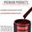 Carmine Red - Acrylic Lacquer Auto Paint - Quart Paint Color Only - Professional Gloss Automotive, Car, Truck, Guitar & Furniture Refinish Coating