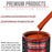 Speed Orange - Acrylic Lacquer Auto Paint - Complete Gallon Paint Kit with Slow Dry Thinner - Professional Gloss Automotive, Car, Truck, Guitar, Furniture Refinish Coating