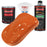 Sunset Orange - Acrylic Lacquer Auto Paint - Complete Quart Paint Kit with Medium Thinner - Professional Gloss Automotive, Car, Truck, Guitar and Furniture Refinish Coating