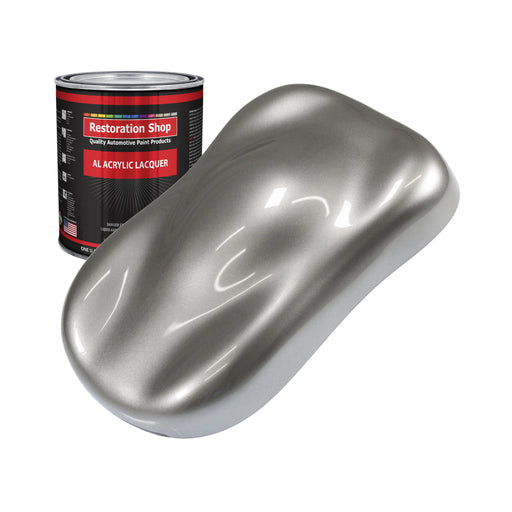 Titanium Gray Metallic - Acrylic Lacquer Auto Paint - Quart Paint Color Only - Professional Gloss Automotive, Car, Truck, Guitar & Furniture Refinish Coating
