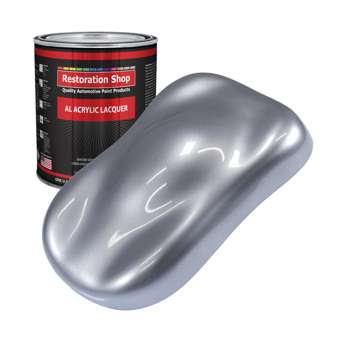 Cool Gray Metallic - Acrylic Lacquer Auto Paint - Gallon Paint Color Only - Professional Gloss Automotive, Car, Truck, Guitar & Furniture Refinish Coating