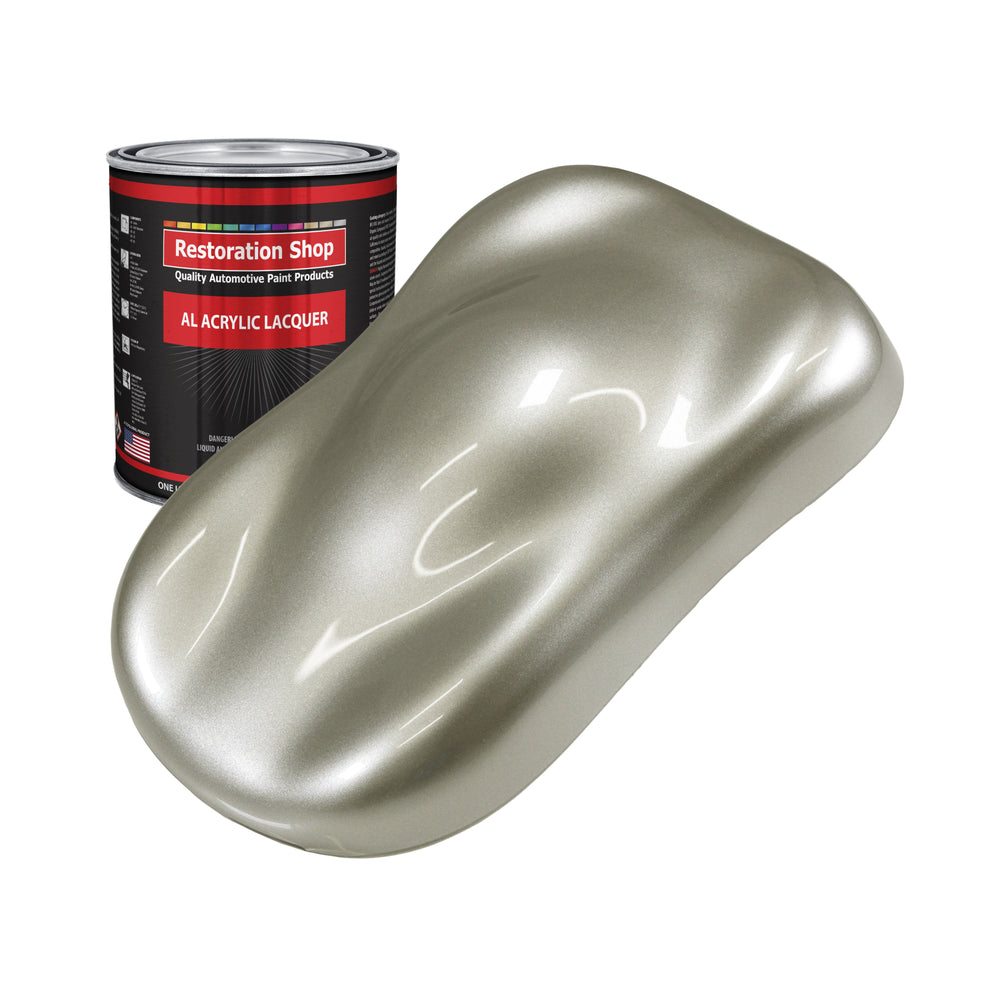 Galaxy Silver Metallic - Acrylic Lacquer Auto Paint - Quart Paint Color Only - Professional Gloss Automotive, Car, Truck, Guitar & Furniture Refinish Coating