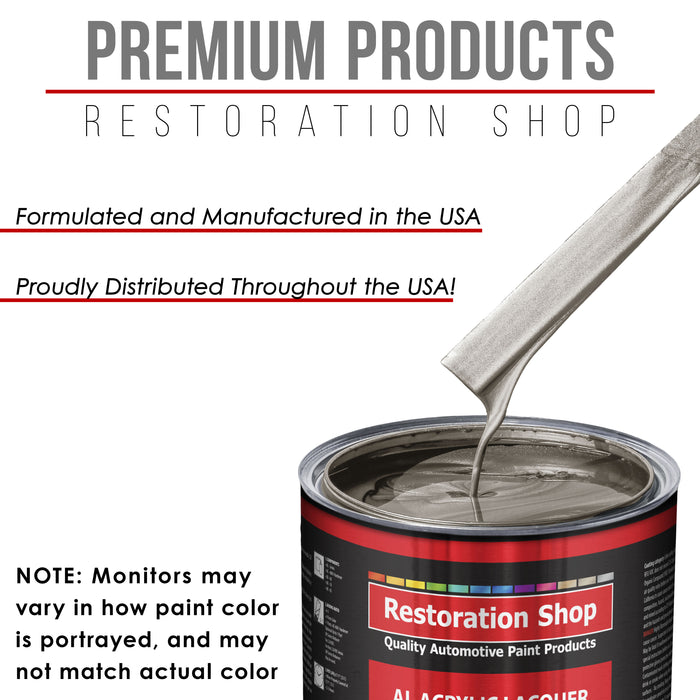 Arizona Bronze Metallic - Acrylic Lacquer Auto Paint - Quart Paint Color Only - Professional Gloss Automotive, Car, Truck, Guitar & Furniture Refinish Coating