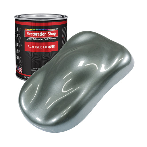 Steel Gray Metallic - Acrylic Lacquer Auto Paint - Gallon Paint Color Only - Professional Gloss Automotive, Car, Truck, Guitar & Furniture Refinish Coating
