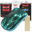 Dark Teal Metallic - Acrylic Lacquer Auto Paint - Complete Gallon Paint Kit with Slow Dry Thinner - Professional Gloss Automotive, Car, Truck, Guitar, Furniture Refinish Coating