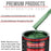 Emerald Green Metallic - Acrylic Lacquer Auto Paint - Complete Gallon Paint Kit with Medium Thinner - Professional Gloss Automotive, Car, Truck, Guitar & Furniture Refinish Coating