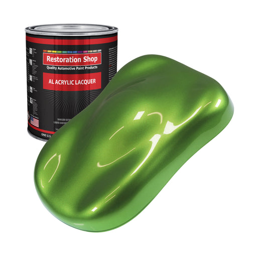 Synergy Green Metallic - Acrylic Lacquer Auto Paint - Gallon Paint Color Only - Professional Gloss Automotive, Car, Truck, Guitar & Furniture Refinish Coating