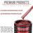 Firemist Red - Acrylic Lacquer Auto Paint - Gallon Paint Color Only - Professional Gloss Automotive, Car, Truck, Guitar & Furniture Refinish Coating