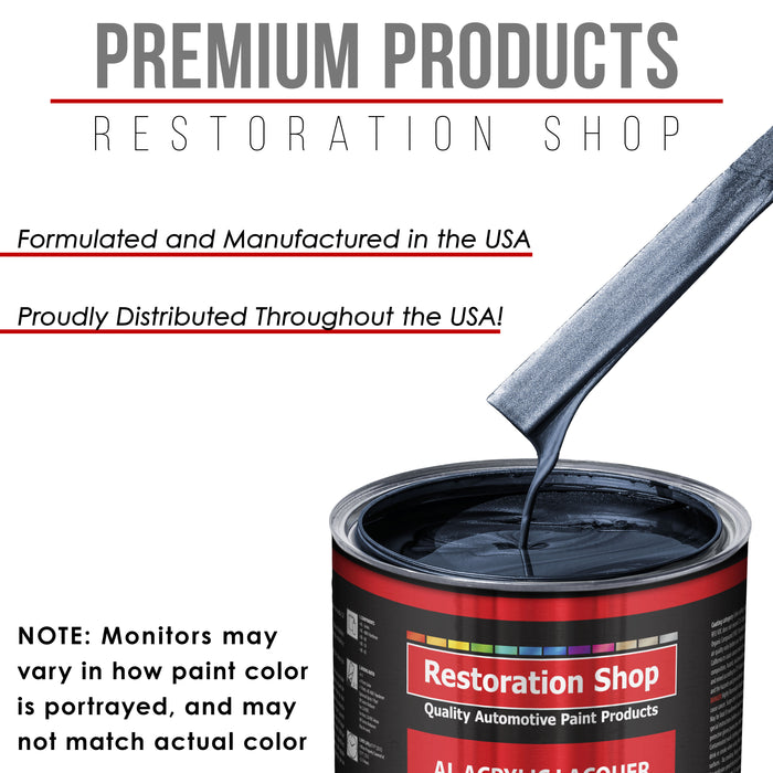 Neptune Blue Firemist - Acrylic Lacquer Auto Paint - Gallon Paint Color Only - Professional Gloss Automotive, Car, Truck, Guitar & Furniture Refinish Coating