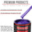 Firemist Purple - Acrylic Lacquer Auto Paint - Gallon Paint Color Only - Professional Gloss Automotive, Car, Truck, Guitar & Furniture Refinish Coating