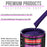Mystical Purple Acrylic Urethane Auto Paint - Complete Gallon Paint Kit - Professional Single Stage High Gloss Automotive, Car, Truck Coating, 4:1 Mix Ratio 2.8 VOC