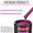 Magenta Acrylic Urethane Auto Paint - Complete Quart Paint Kit - Professional Single Stage High Gloss Automotive, Car, Truck Coating, 4:1 Mix Ratio 2.8 VOC