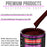 Carmine Red Acrylic Urethane Auto Paint - Quart Paint Color Only - Professional Single Stage High Gloss Automotive, Car, Truck Coating, 2.8 VOC
