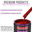 Torch Red Acrylic Urethane Auto Paint - Quart Paint Color Only - Professional Single Stage High Gloss Automotive, Car, Truck Coating, 2.8 VOC