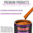 Omaha Orange Acrylic Urethane Auto Paint - Gallon Paint Color Only - Professional Single Stage High Gloss Automotive, Car, Truck Coating, 2.8 VOC