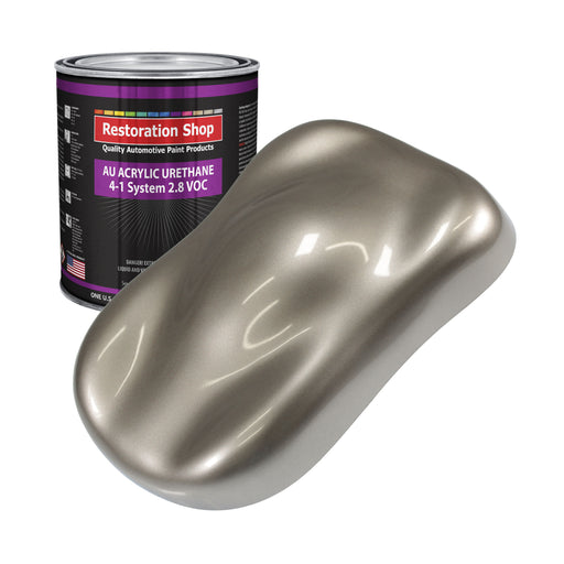 Arizona Bronze Metallic Acrylic Urethane Auto Paint - Gallon Paint Color Only - Professional Single Stage High Gloss Automotive, Car, Truck Coating, 2.8 VOC