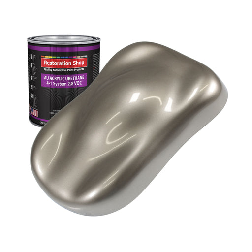 Arizona Bronze Metallic Acrylic Urethane Auto Paint - Quart Paint Color Only - Professional Single Stage High Gloss Automotive, Car, Truck Coating, 2.8 VOC